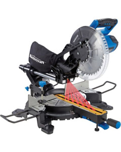 Mastercraft Sliding Compound Mitre Saw with Laser, 10-in