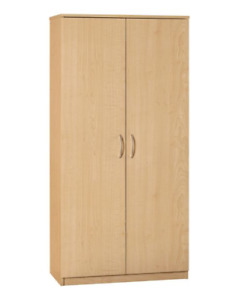BRAND NEW 2-Door Storage Cabinet (Maple)