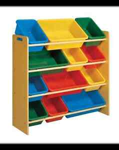 Kids - 12-Bin Toy Organizer Canadian Tire Windsor Region Ontario image 1