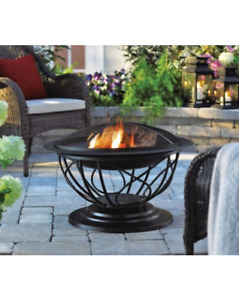 For Living Savona Outdoor Fire Bowl Patio Backyard