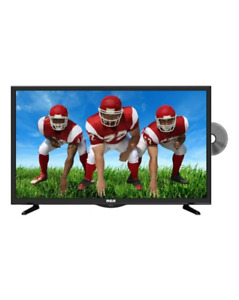"RCA LED HD 24"" TV Black"