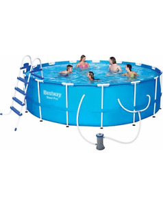 PISCINE 15'  48'' RONDE DEMONTABLE  HYDRO-FORCE STEEL