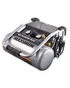 MAXIMUM 4 Gallon Quiet Air Compressor
