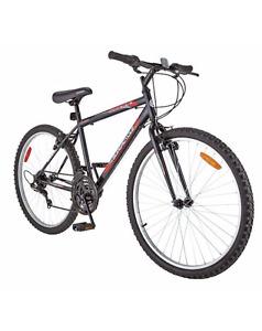 Supercycle Mountain Bike + Rear Rack + Lock + Helmet + Rear Bag