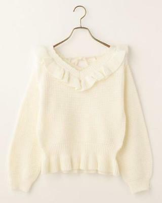 LIZ LISA - Ribbon Sleeve Short Knit Top