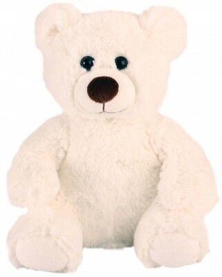 "Lot of 12 Wholesale 10-12"" Plush Stuffed Teddy Bears Bear Toys - White Bear"