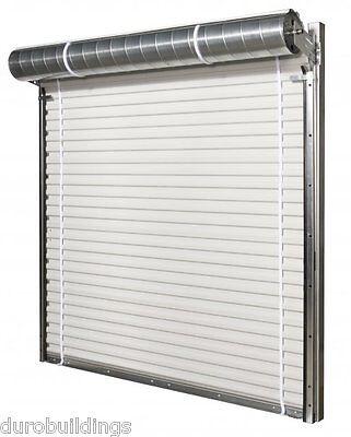 Durosteel Janus 10x10 Commercial 1000 Series Metal Roll-up Door Hdwe Direct