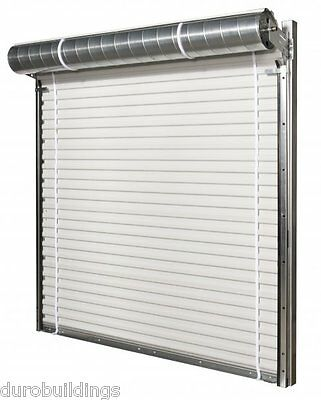Duro Steel Janus 8 Wide By 9 Tall 1950 Series Insulated Roll-up Door Direct