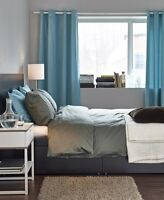 """Sanela Curtains from IKEA 6 Panels in all 96""""x 55"""""""
