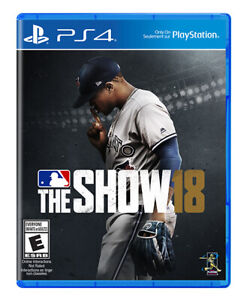 MLB The Show 18 Excellent Condition