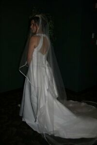Size 10 wedding dress with alterations