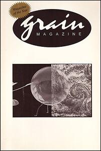 GRAIN MAGAZINE Volume 26 Number 2 August 1998