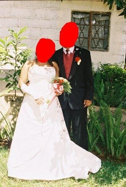 Wedding dress size 18