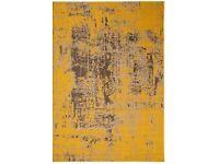 Brand new Revive stressed look rug mustard