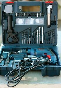 bosch gsb 13 re impact drill 13mm 600w 100pcs tool kit. Black Bedroom Furniture Sets. Home Design Ideas