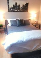 large 1 bedroom with views of city, parking, near 17th Ave