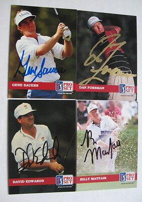 - BILLY MAYFAIR auto GOLF card 1992 PRO SET   ARIZONA STATE SUNDEVILS hand signed