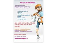 Reliable hardworking cleaner available & mobile ironing service