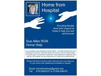 Home from Hospital - Sue Allen RGN Home Help