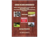 Looking for home improvements? Free quotes given