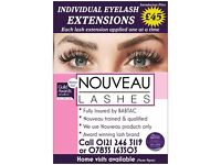 Nouveau eyelash extensions Call 07835 163508