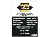 Man and van - 07535041331 - Rubbish removal - House clearance - Light removals