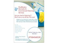 DustBusters Cleaning Services. Professional, Reliable and Fully Insured Cleaners. Greater Manchester