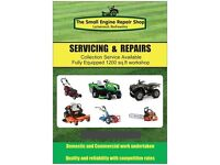 LAWNMOWER, GARDEN MACHINERY, QUADS and PLANT REPAIR AND SERVICING covering SW Glasgow