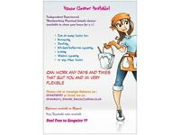 reliable hardworking cleaner & dogwalker available. mobile ironing service as well