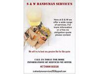 S&W handyman services