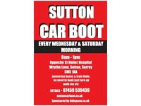 Sutton Car Boot Sale