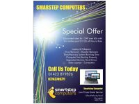 SMARSTEP COMPUTERS REPAIR TO ALL MAKE OFF LAPTOPS & PCs