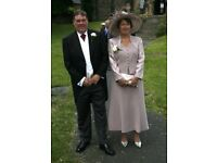 Condici dress and jacket, beautiful outfit for mother of bride or groom . Size 12-14