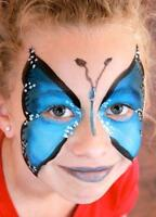 Professional quality facepainting