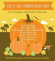 Pumpkin Parade Party