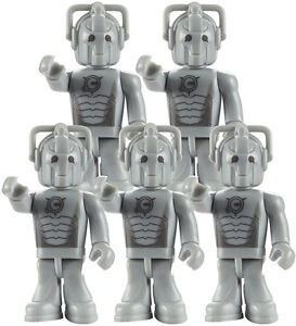 NEW Dr Who Character Building CYBERMAN Army Builder 5 Figure Construction Set