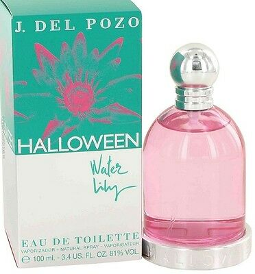 HALLOWEEN WATER LILY BY J.DEL POZO FOR WOMEN-EDT-SPR-3.4OZ-100ML-AUTHENTIC-SPAIN
