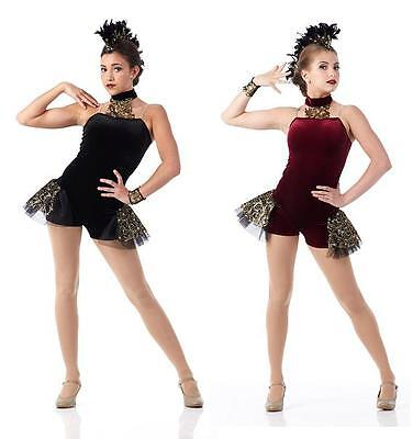The Royal Ballet Dance Costume Jazz Funky Contemporary Girls CS-Adult 2XL (Contemporary Jazz Dance Kostüme)