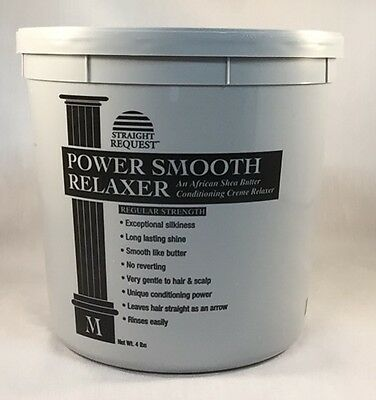 Straight Request Power Smooth African Shea Butter Relaxer 64oz (4LB)