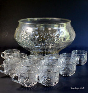 1950's Jeanette Fruit Punch bowl Set London Ontario image 1