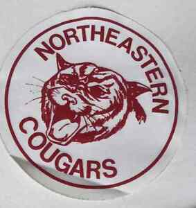 Northeastern Cougar Iron on  ---Pierrefonds H8Z1W8--- West Island Greater Montréal image 1