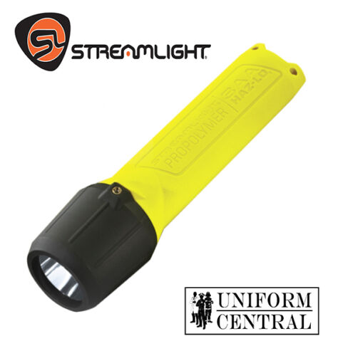 STREAMLIGHT 3AA Propolymer HAZ-LO Helmet Kit Flashlight - Firefighter - 68720