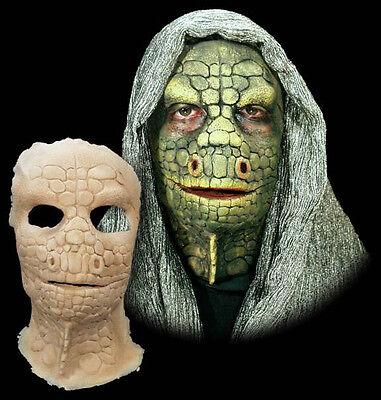 Lizard Reptile V Halloween Mask Foam Latex Prosthetic Appliance - Mask Halloween Prosthetic