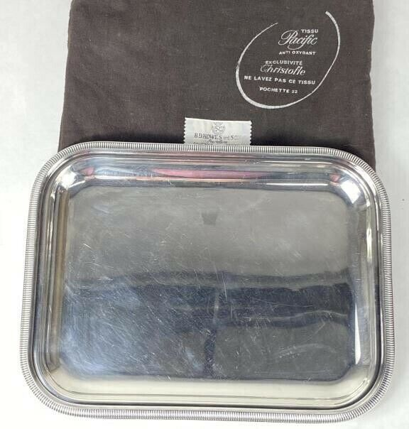 "Christofle Serving Tray 10 1/4""x8"""