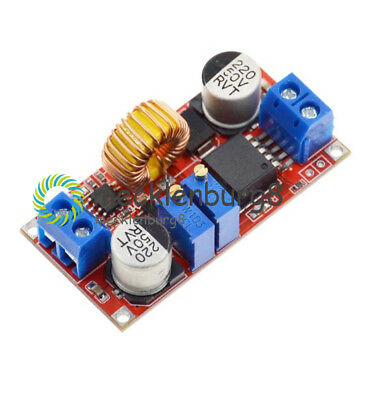 2/5Pcs DC to CC CV Lithium Battery Step down Charging Board Power Converter 5A 2,5 A Board