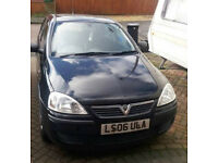 Vauxhall Corsa 2006(06) 1.0 Life 5dr, good runner, no damage, good condition. 71500 miles