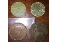 Very old British coins