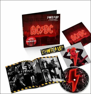 AC/DC - Pwr Up cd w/ stickers target  power up ships FAST daily  1st class mail