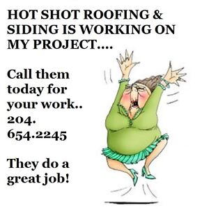 204.654.2245 ^^GREAT WORK^^HOT SHOT ROOFING & SIDING CO.