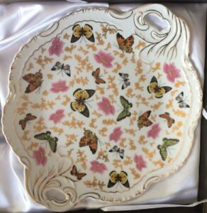 Vintage Butterfly Serving Dish by Allison L.L.